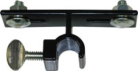 Brochure Box Mounting Clip for Round Rod Frames